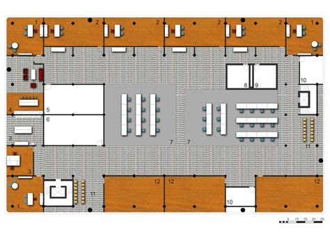 Floor For Employees by Marked Potential District Health Center 1 City