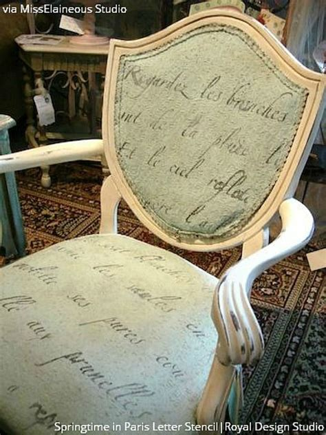 diy chalk paint on fabric 85 best images about stenciled words on