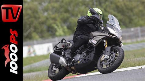 Motorrad Rally Navigation by 2015 Aprilia Caponord 1200 Rally Test Reiseenduro