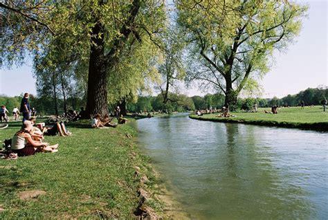 englischer garten eisbach eisbach river munich wikhydro