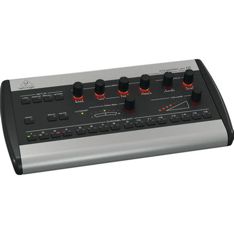 Mixer Behringer 16 Channel Bekas behringer powerplay 16 p16 m 16 channel digital personal p16 m