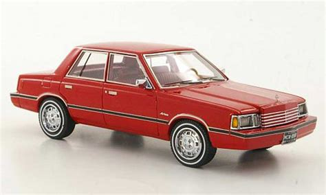 dodge aries k car limited edition 1983 american