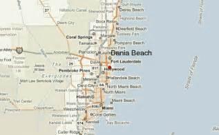 dania florida map dania location guide