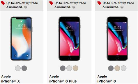 buy an iphone x or iphone 8 for half the price at verizon phonearena