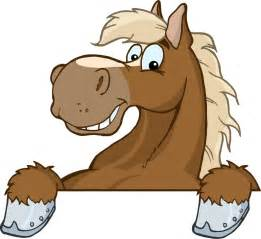 Picture Clips cartoon horse head clipart image 19672
