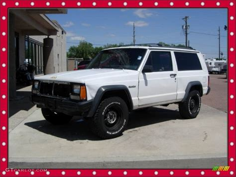 jeep cherokee sport white 1994 off white jeep cherokee sport 4x4 65680984 photo 2