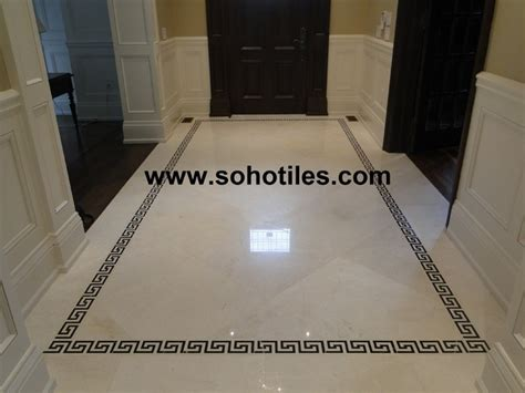 Aspen Dining Room Set vanilla cream polished marble hallway residential toronto