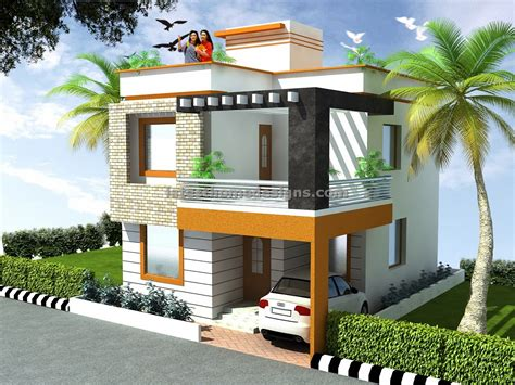 indian residential building plan and elevation