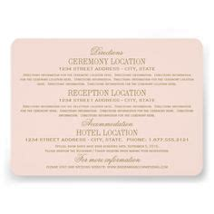 wedding website enclosure card template 1000 ideas about accommodations card on