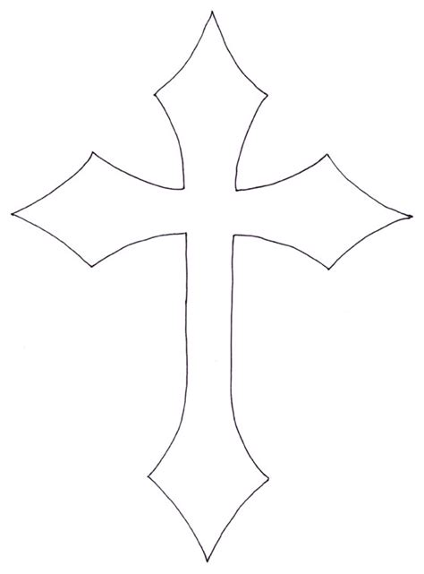 cross tattoo template stencil for cross shirt http www ilovetocreate