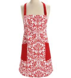 Kitchen Aprons Kitchen Apron Damask In Aprons And Oven Mitts