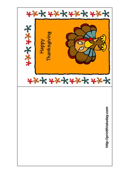 free thanksgiving templates for greeting cards free printable thanksgiving cards