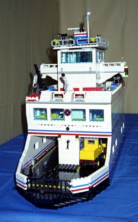 lego ferry boat lego instructions for car ferry model by lions gate models