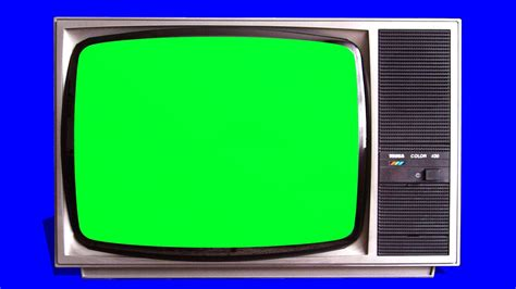 Green Tv | old tv vintage televison green screen tracking shot and stills free green screen 1 youtube