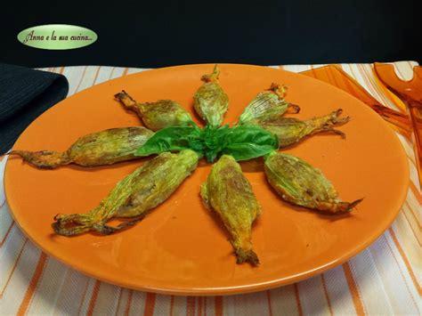 ricetta fiori di zucca ripieni al forno fiori di zucca ripieni al forno e la sua cucina