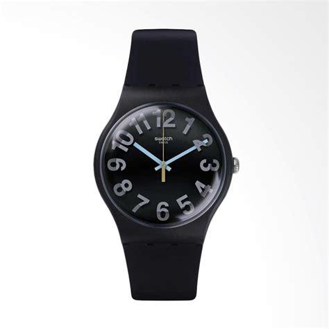 Jam Tangan Pria Leather Swatch setting tanggal pada jam tangan analog jualan jam tangan