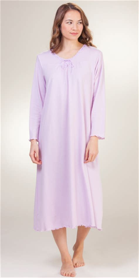 knit nightgowns serene comfort