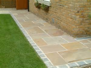 raj green indian sandstone paving patio