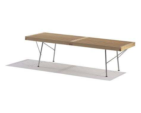 herman miller bench nelson bench by george nelson for herman miller