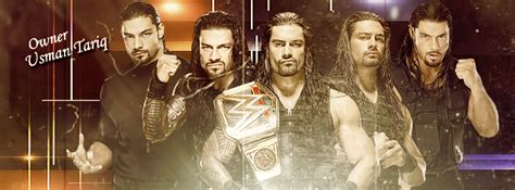 roman reigns facebook roman reigns facebook page cover by wwematchcard on deviantart