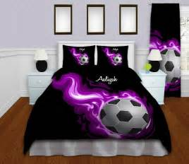 Design Your Own Duvet Set Soccer Bedding Personalized Soccer Duvet Cover Sports