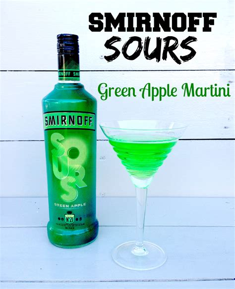 martini smirnoff smirnoff sours green apple vodka recipes