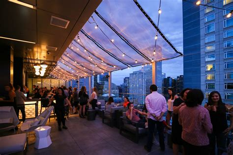 top bars in denver 54thirty denver s highest rooftop bar has fire pits to keep patio season burning