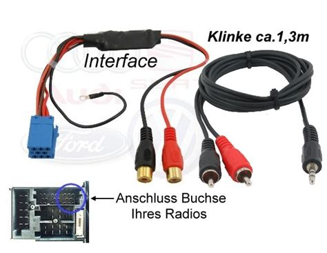 Motorrad Navi Ohne Ton by Aux Interface Line In Adapter F 252 R Mp3 Player Biete