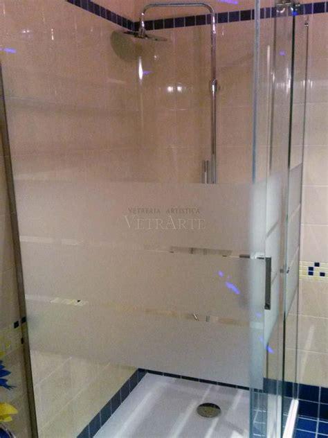 vetro doccia satinato cabine doccia con vetro a strisce satinato vetrarte gr