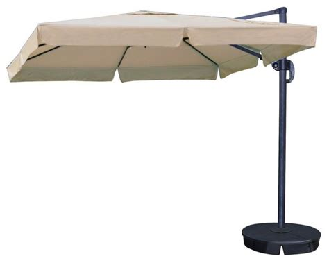 Home Depot Patio Umbrellas Swim Time Patio Umbrellas Santorini Ii 10 Ft Square