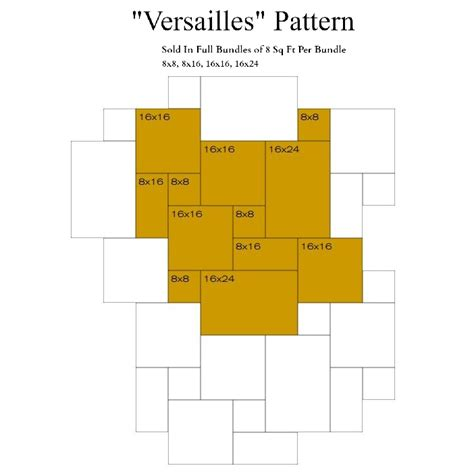 versailles pattern vinyl noce honed and filled straight edge versailles pattern