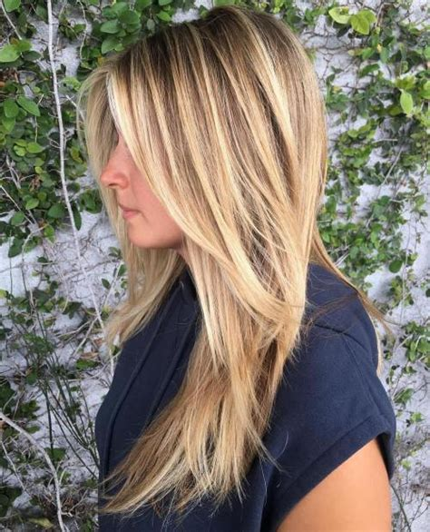 hairstyles for long straight hair with highlights 40 cute long blonde hairstyles for 2018
