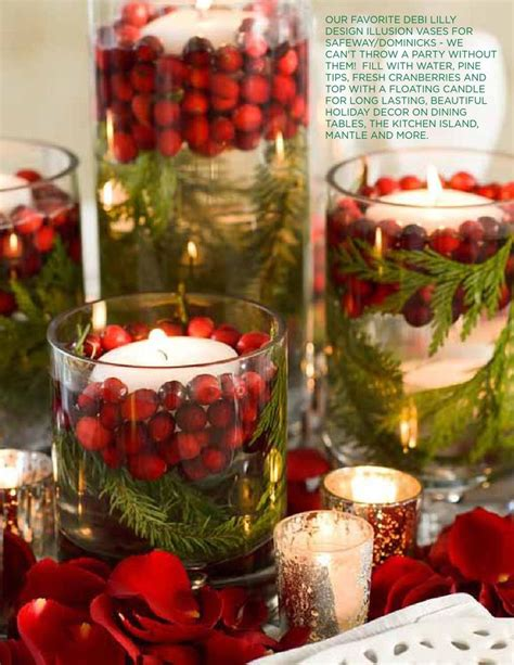 25 best ideas about christmas centerpieces on pinterest