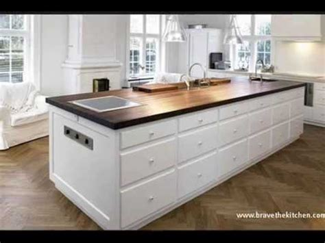 Kitchen island with sink youtube