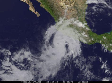 imagenes satelitales del huracán patricia cr 243 nica cr 237 tica de una cat 225 strofe fallida