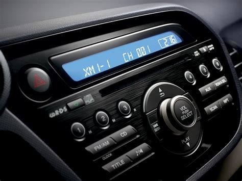 honda cr  xm satellite radio acrz