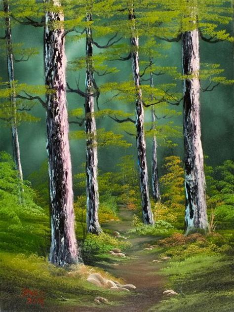 bob ross painting for sales bob ross paintings for sale silent forest 86135 painting