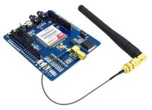 icomsat gsm gprs shield arduino compatible robotshop