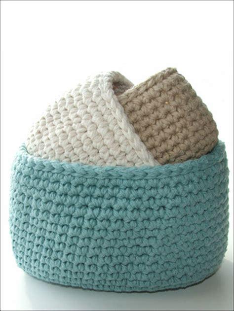 Cotton Storage crochet patterns oval cotton storage bins