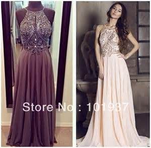 occassion dresses 2014 new design special occasion dresses backless a line chiffon floor length