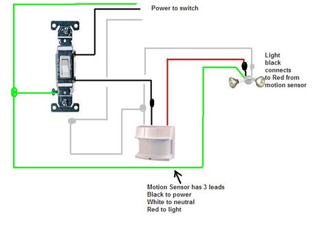 wiring diagram for motion sensor we two outdoor carriage ls which were installed