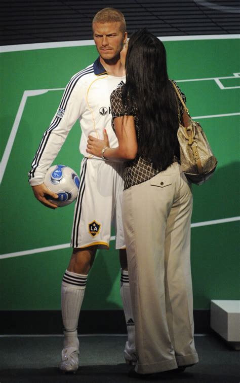 Another Bad Beckham Wax Figure by Brad Pitt And Get Waxed 12 Other