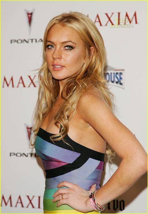 Lindsay Lohan Tops Maxims 100 by Lohan Wallpaper Designs