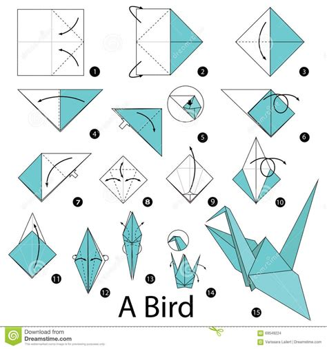 Origami Pdf - beautiful origami bird