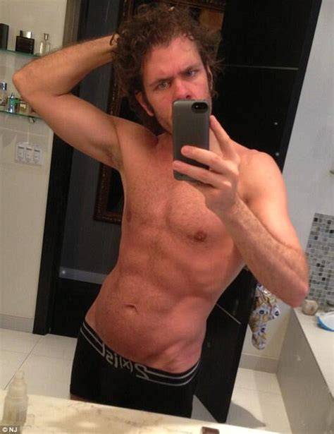 perez hilton under fire for sharing a shower with perez hilton takes time off dad duty to admire his abs in