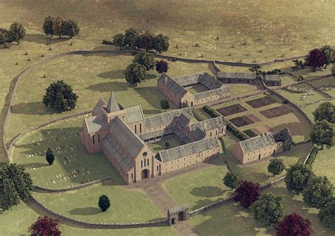 Historical House Plans strata florida abbey illustrated historical reconstruction