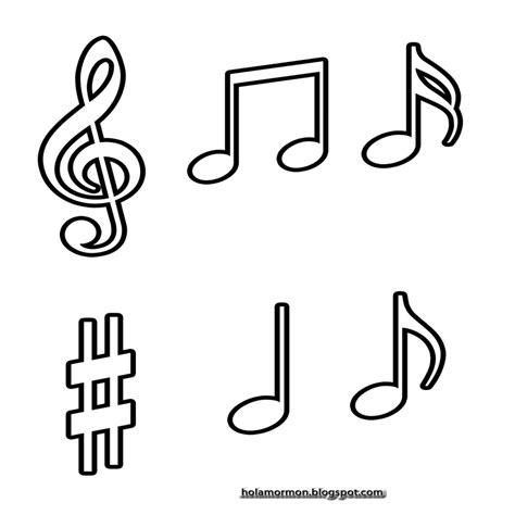 imagenes notas musicales para colorear pz c notas musicales colorear website