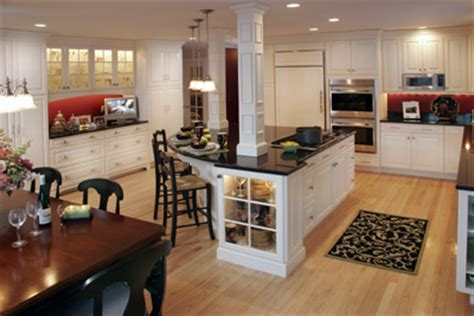 kitchen island with structural post a chef s kitchen mccormick design