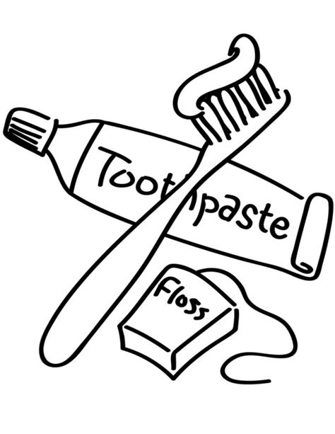 brushing teeth coloring pages az coloring pages