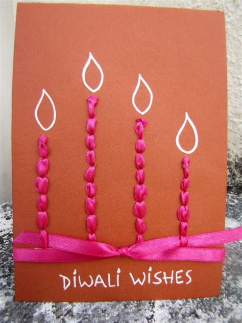 ideas to make a greeting card diwali greeting card ideas family net